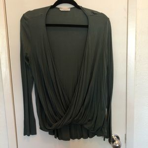LUSH low cut tunic